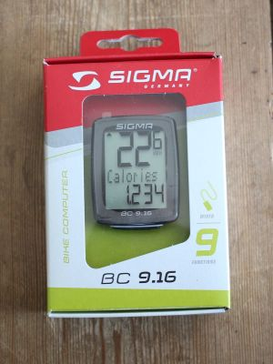 Sigma Sport BC 9.16 - Verpackung