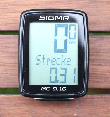 Sigma Sport BC 9.16 - Vorderseite