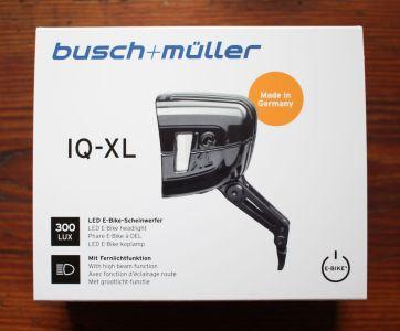 Busch & Müller IQ-XL - Verpackung