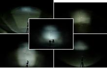 Lichtvergleichsbilder Fahrradbeleuchtung