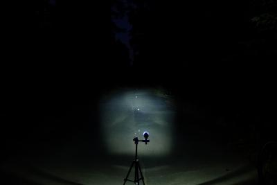 Busch & Müller IQ Fly (Bild von Ixon IQ mit gleichem Lichtkegel))