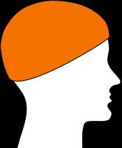 Schlauchschal als Mütze