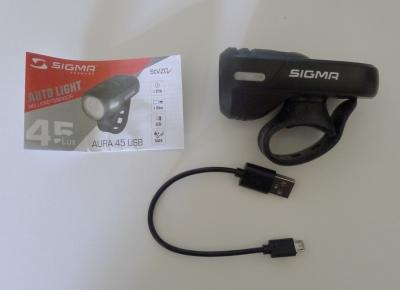 Sigma Sport Aura 45 - Lieferumfang