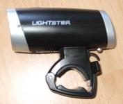 Sigma Sport Lightster - Seitenansicht mit Halter