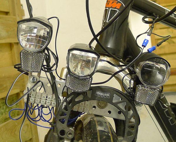 Günstige Fahrradbeleuchtung im Test