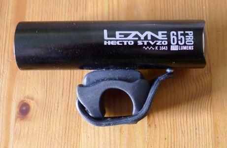 Lezyne Hecto Drive Stvzo Pro 65 - Seitenansicht