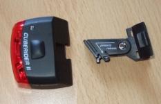 Sigma Sport Cuberider II - Rücklicht und Halterung