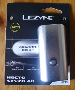 Lezyne Hecto Drive 40 - Verpackung