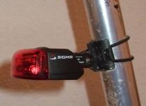 Sigma Sport Cuberider II - montiert
