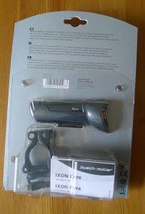 Busch & Müller Ixon Fyre - Verpackung