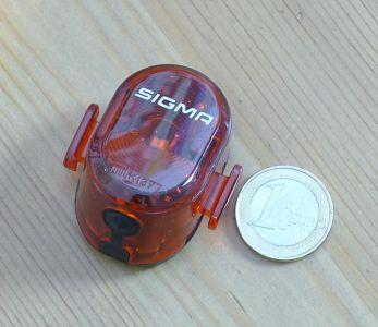 Sigma Sport Nugget II - Größenvergleich