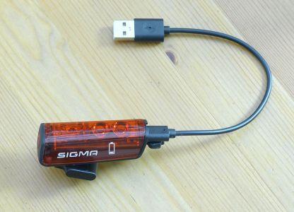 Sigma Sport Blaze - Ladeanschluss