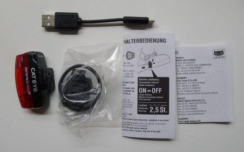 CatEye Rapid Micro G - Lieferumfang