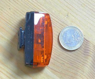 CatEye Rapid Micro G - Größenvergleich