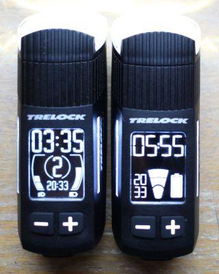Trelock LS 660 und LS 760 - Displayvergleich