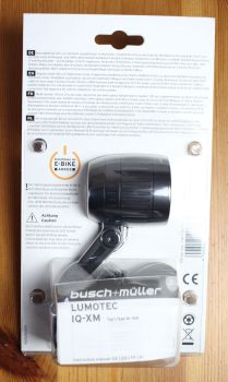Busch & Müller IQ-XM - Verpackung Rückseite