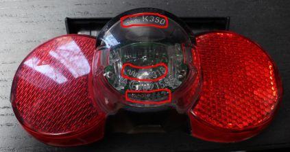 K-Nummer Fahrradbeleuchtung: Busch & Müller Dtoplight XS