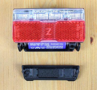 Busch & Müller Toplight Line Permanent - Batteriefach