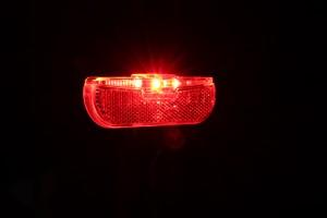 Trelock LS 615 Duo Flat Signal - schräg Bremslicht