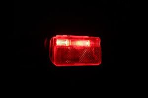 Busch & Müller Toplight Line Brake plus - leuchtend schräg