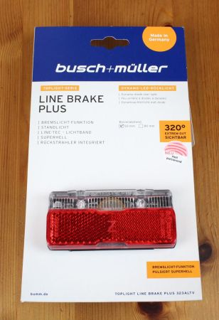 Busch & Müller Toplight Line brake plus - Verpackung