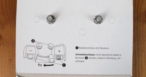 Busch & Müller Toplight Line brake plus - Verpackung Detail
