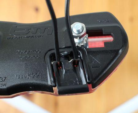 Busch & Müller Toplight View brake plus - Kabelanschluss ohne Stecker