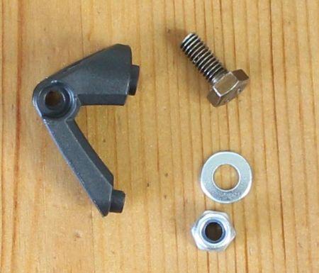 Busch & Müller µ / my - Schutzblechhalter mit Montagematerial