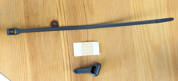 Busch & Müller µ / my - Sattelstangenhalter mit Montagematerial