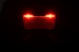 Herrmans H-Trace Rücklicht - leuchtend von vorn