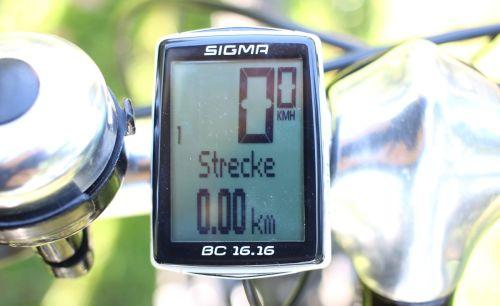 Sigma Sport BC 16.16 - Display
