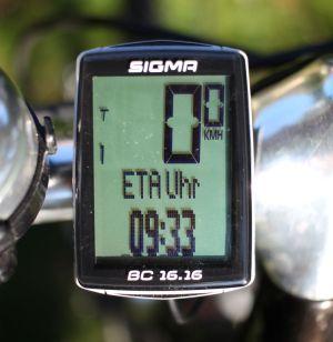 Sigma Sport BC 16.16 - ETA Uhr