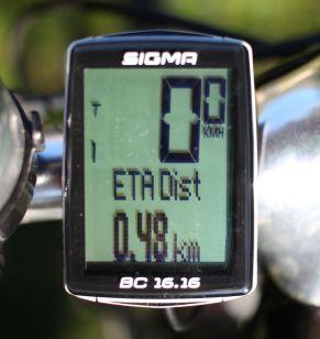 Sigma Sport BC 16.16 - ETA Distanz